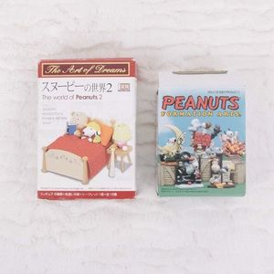 Japanese Peanuts Snoopy Collectible Figurines